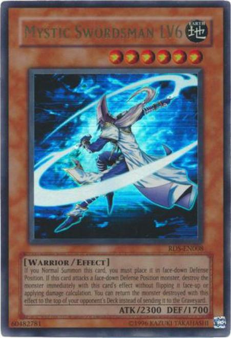YuGiOh Rise of Destiny Ultra Rare Mystic Swordman LV6 RDS-EN008