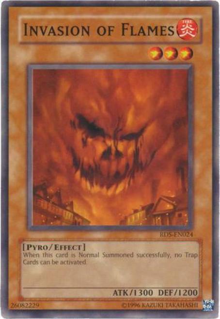 YuGiOh Rise of Destiny Common Invasion of Flames RDS-EN024