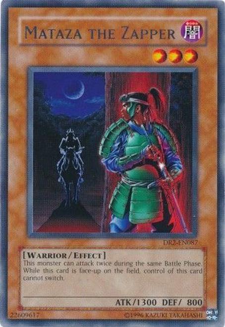 YuGiOh Dark Revelation 2 Rare Mataza the Zapper DR2-EN087
