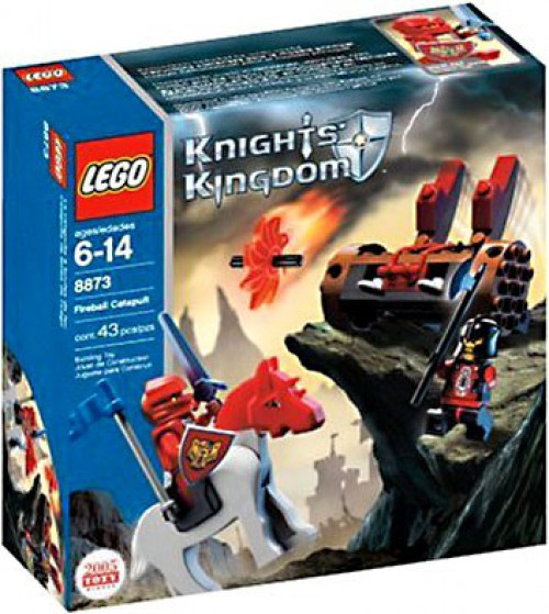 LEGO Knights Kingdom Fireball Catapult Set #8873