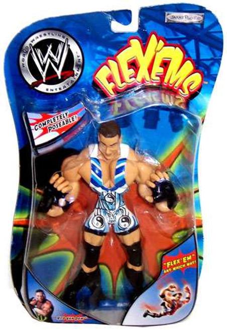 WWE Wrestling Flex'ems Series 3 Rob Van Dam Action Figure