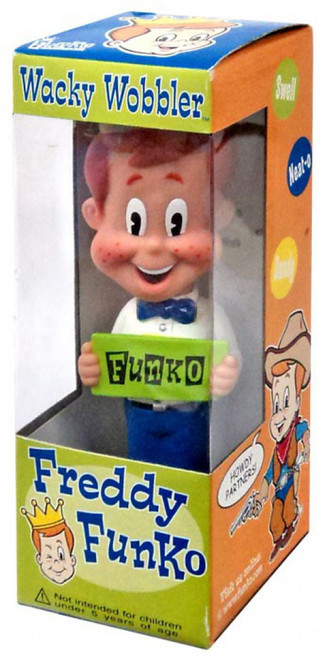 Wacky Wobbler Freddy Funko Exclusive Bobble Head
