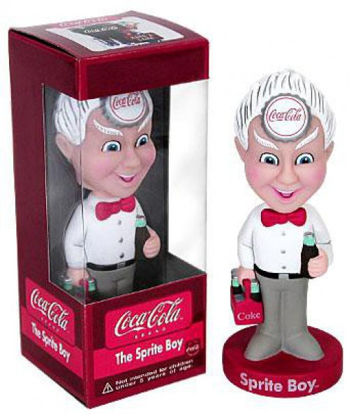 Funko Coca-Cola Wacky Wobbler The Sprite Boy Bobble Head