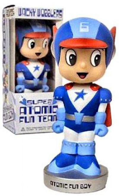 Funko Super Atomic Fun Team Wacky Wobbler Atomic Fun Boy Exclusive Bobble Head