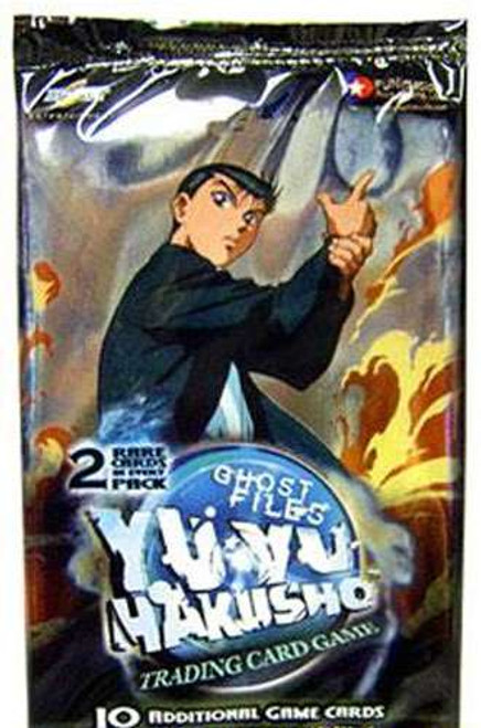 Yu Yu Hakusho Trading Card Game Ghost Files Booster Pack