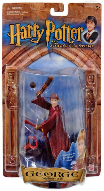 Harry Potter The Sorcerer's Stone George Action Figure [Quidditch Team]