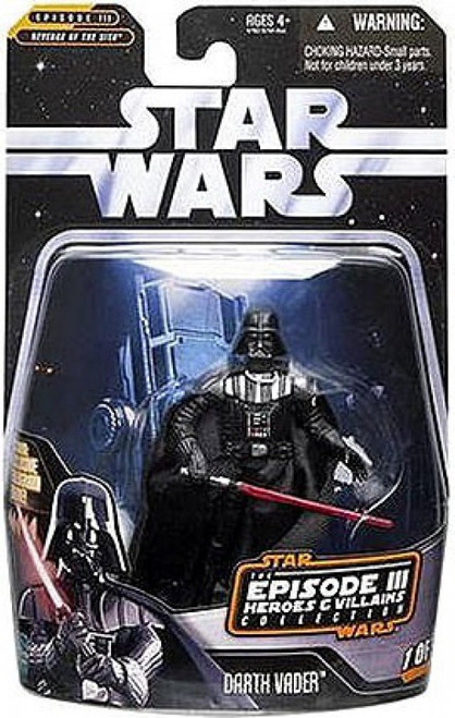 Star Wars Revenge of the Sith 2006 Episode III Heroes & Villains Darth Vader Action Figure #1 of 12