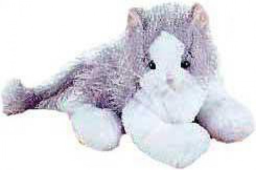Webkinz Gray & White Cat Plush