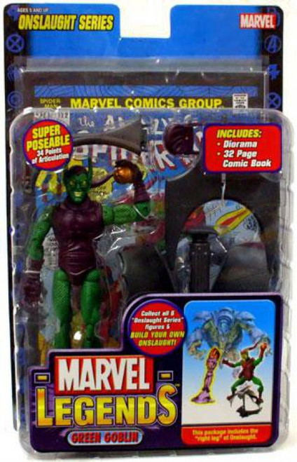 Marvel Legends Series 13 Onslaught Green Goblin Action Figure