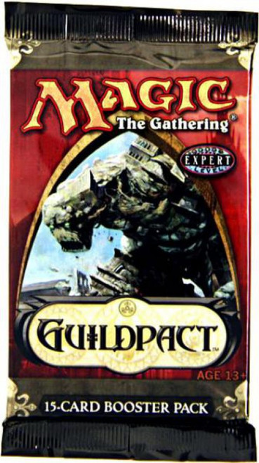 MtG Trading Card Game Guildpact Booster Pack [15 Cards]