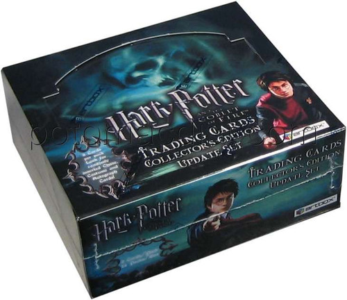 Harry Potter Update Edition The Goblet of Fire Trading Card Box [24 Packs]
