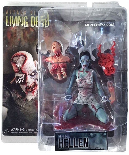Attack of the Living Dead Afterlife Hellen Action Figure [Dark Skin]