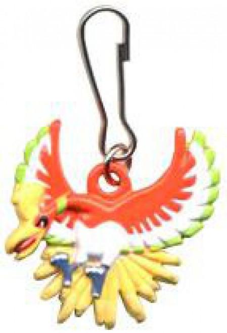 Pokemon Metal Mini Dangler Ho-Oh Keychain