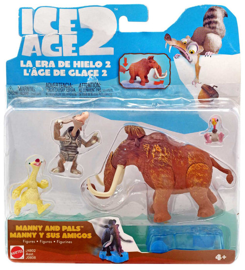 Ice Age 2 The Meltdown Manny & Pals Mini Figure Set
