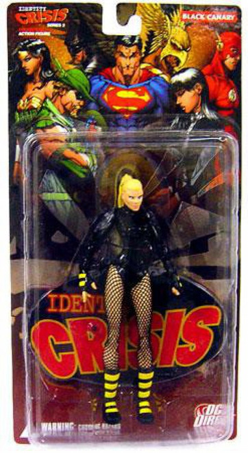 DC Identity Crisis Series 2 Black Canary Action Figure