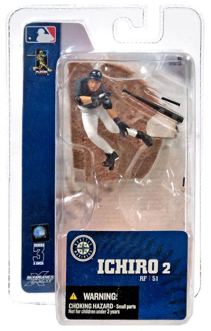 McFarlane Toys MLB Seattle Mariners Sports Picks 3 Inch Mini Series 3 Ichiro Mini Figure