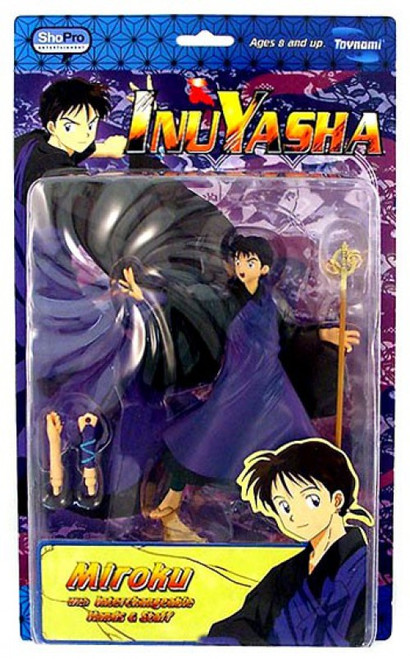 InuYasha Series 3 Miroku Action Figure [Staff & Windtunnel]