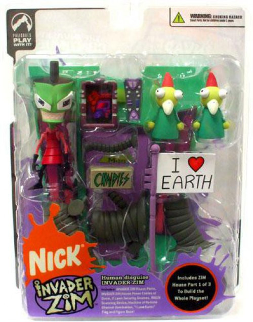 Series 2 of Doom Invader Zim Action Figure [Human Disguise]