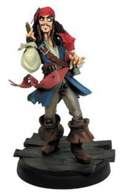 Pirates of the Caribbean Animated Captain Jack Sparrow Maquette
