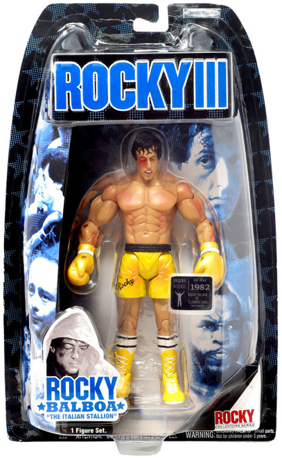 Rocky III Series 3 Rocky Action Figure [Battle Damaged]