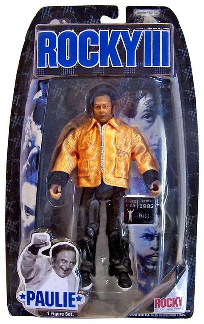 Rocky III Series 3 Paulie Action Figure [Corner Gear]