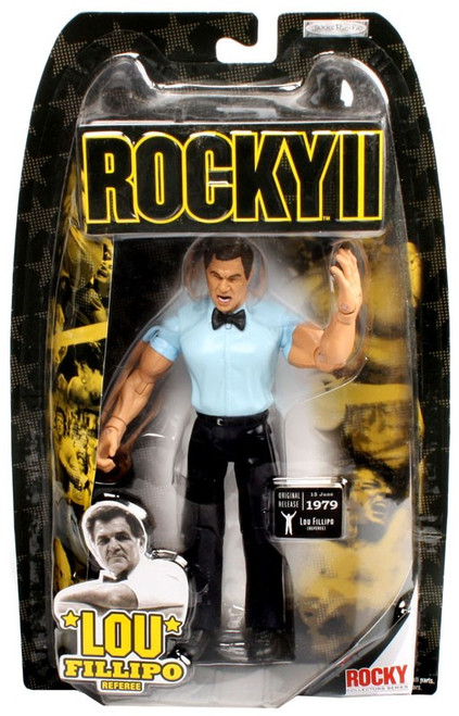 Rocky II Series 2 Lou Fillipo Action Figure