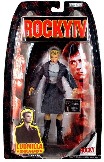 Rocky IV Series 4 Ludmilla Drago Action Figure
