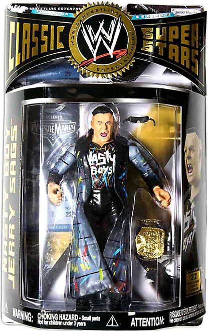 WWE Wrestling Classic Superstars Series 12 Nasty Boy Jerry Sags Action Figure