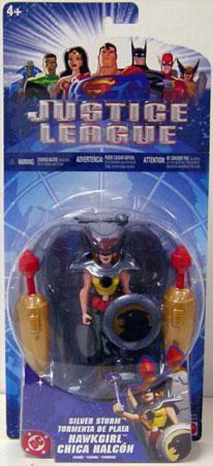 Justice League Hawkgirl Action Figure [Silver Storm]