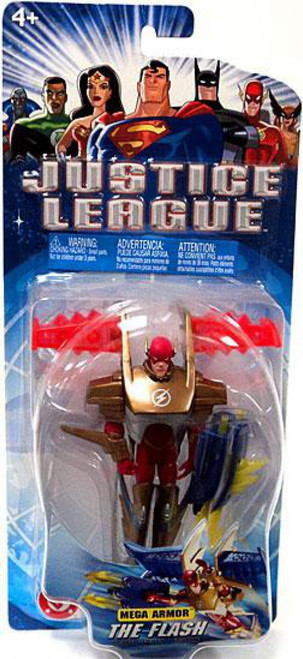 Justice League The Flash Action Figure [Mega Armor]