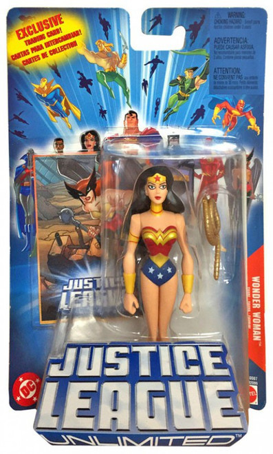 Justice League Unlimited Wonder Woman Action Figure [Blue Card, Gold Lasso]