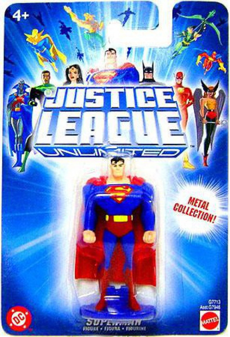 Justice League Unlimited Superman Diecast Figure [Blue Card]