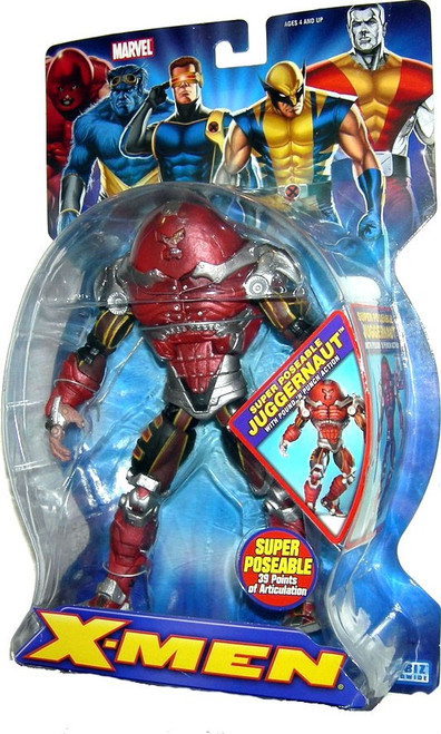 Marvel X-Men Super Poseable Juggernaut Action Figure