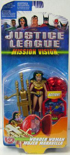 Justice League Mission Vision Wonder Woman Action Figure