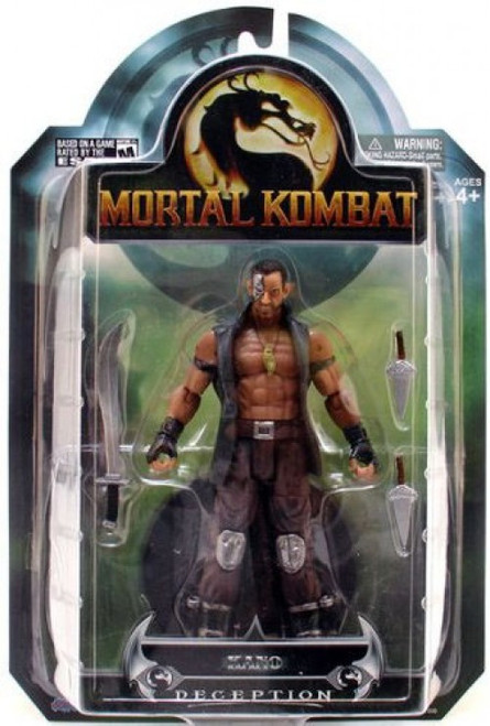 Mortal Kombat Deception Series 3 Kano Action Figure