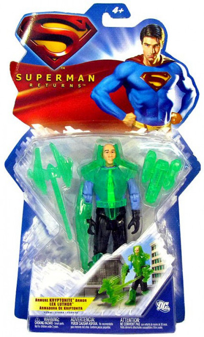 Superman Returns Lex Luthor Action Figure [Kryptonite Armor]