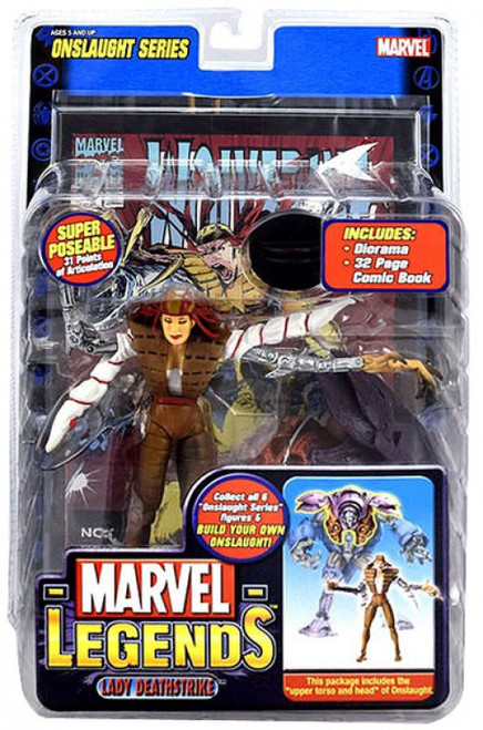 Marvel Legends Series 13 Onslaught Lady Deathstrike Action Figure