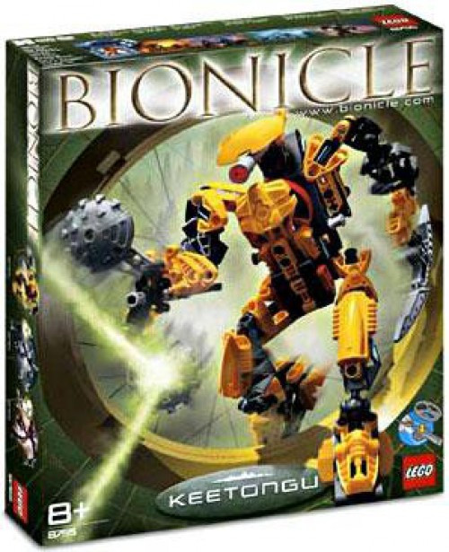 LEGO Bionicle Keetongu Set #8755