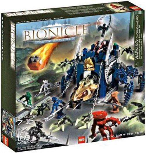 LEGO Bionicle Visorak Battle Ram Set #8757