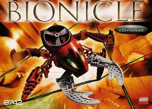 LEGO Bionicle Visorak Vohtarak Set #8742