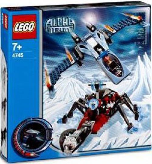 LEGO Alpha Team Blue Eagle vs. Snow Crawler Set #4745
