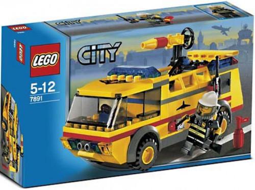 LEGO City Airport Firetruck Set #7891