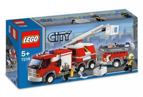 LEGO City Fire Truck Set #7239