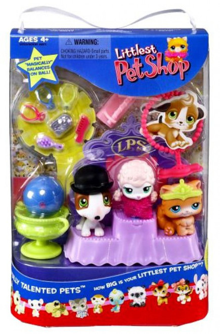 Littlest Pet Shop Best in Show Totally Talented Pets Figure Set