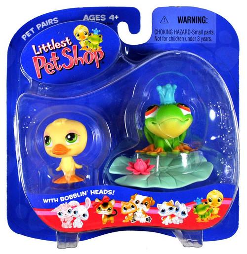 Littlest Pet Shop Pet Pairs Frog & Duck Figure 2-Pack