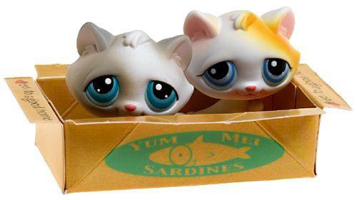 Littlest Pet Shop Pet Pairs Kitten Figure 2-Pack [Box]