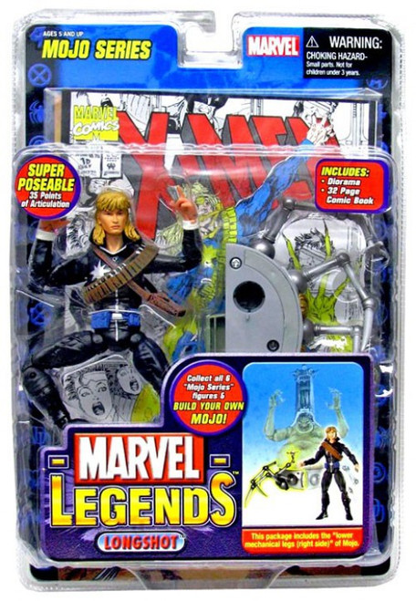 Marvel Legends Series 14 Mojo Longshot Action Figure