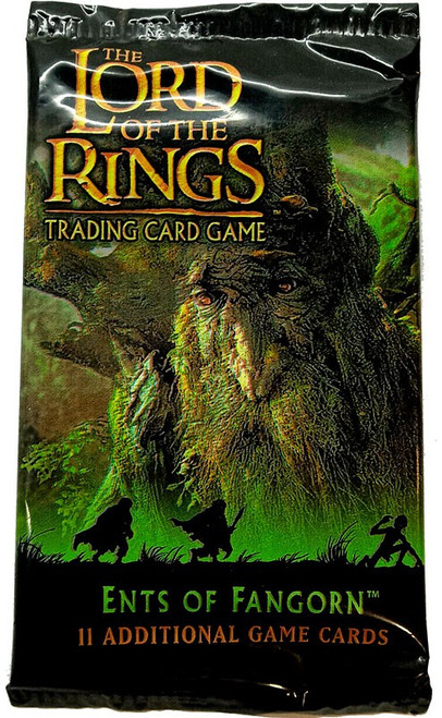The Lord of the Rings Trading Card Game Ents of Fangorn Booster Pack [11 Cards]