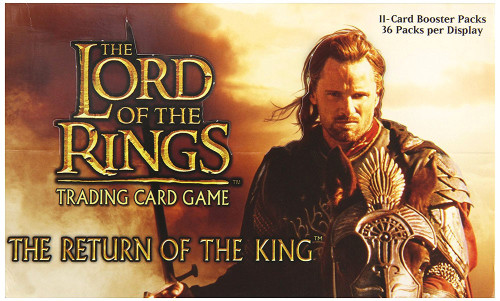 The Lord of the Rings Trading Card Game Return of the King Booster Box [36 Packs]