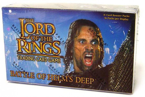 The Lord of the Rings Trading Card Game Battle of Helm's Deep Booster Box [36 Packs]